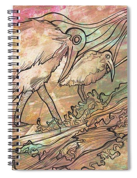 Matrem Terram Spiral Notebook