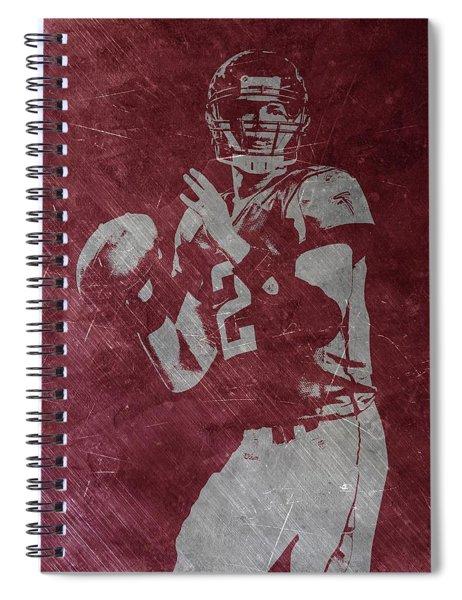 Matt Ryan Atlanta Falcons 2 Spiral Notebook