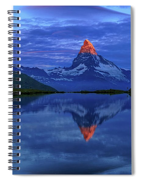 Matterhorn Sunrise Spiral Notebook