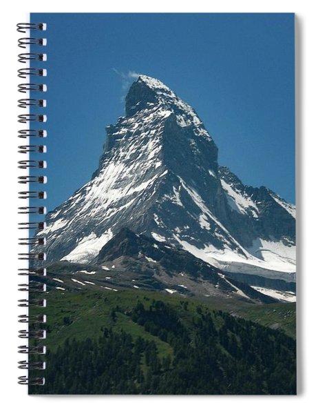Matterhorn, Switzerland Spiral Notebook