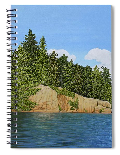 Matthew's Paddle Spiral Notebook