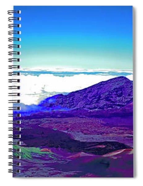 Maui, Haleakala, National Park, Outlook  Spiral Notebook