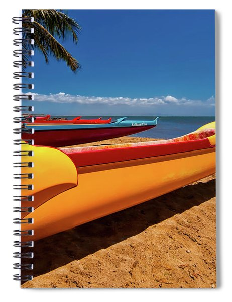 Maui Sugar Beach  Spiral Notebook