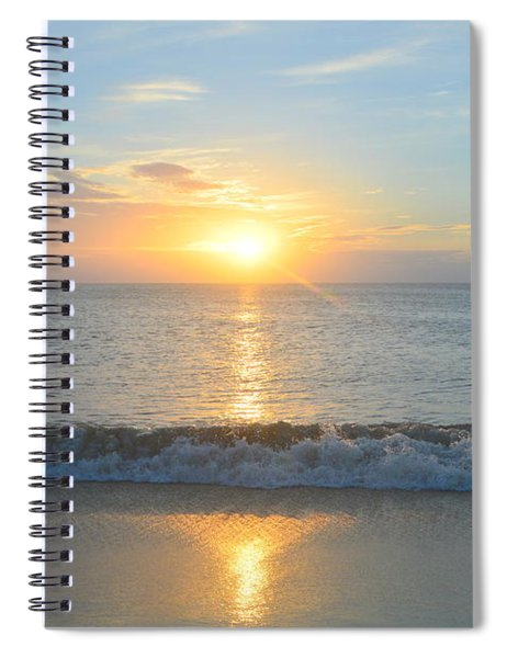 May 23 Sunrise Spiral Notebook