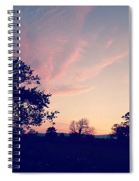 May Sunrise, Lancashire, England Spiral Notebook