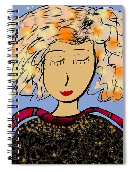 May You Find Peace Of Mind Spiral Notebook
