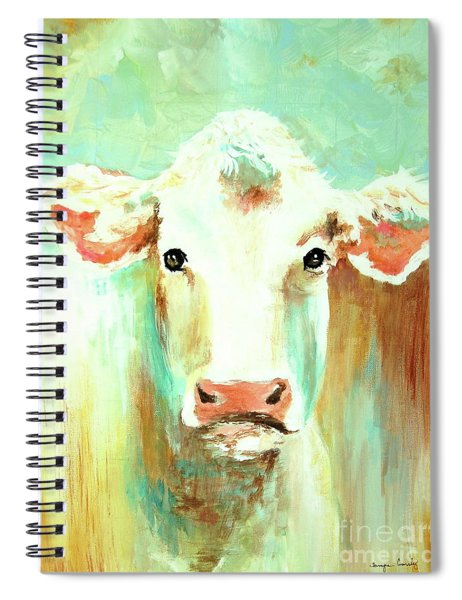 Maybell The Cow Spiral Notebook