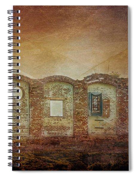 Mayfair Mills Ruins Easley South Carolina Spiral Notebook