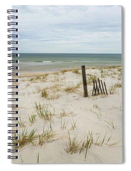 Mayflower Beach Spiral Notebook