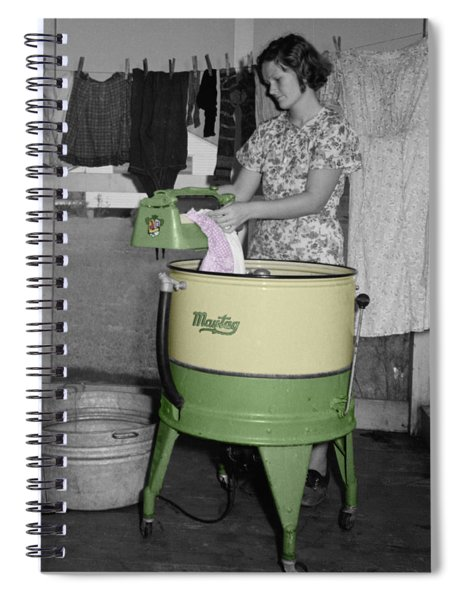 Maytag Woman Spiral Notebook