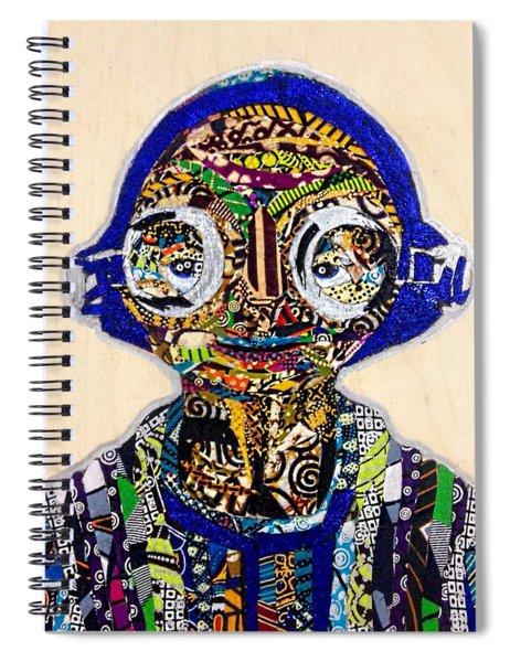 Maz Kanata Star Wars Awakens Afrofuturist Colection Spiral Notebook