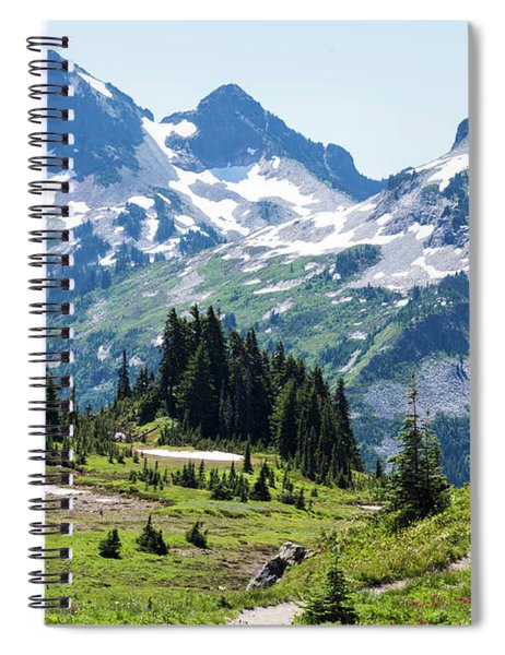 Mazama Ridge And Tatoosh Range Spiral Notebook