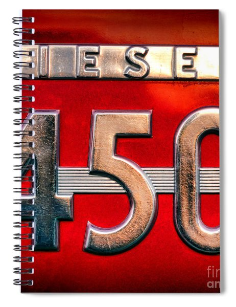 Mc Cormick Farmall Diesel 450 Spiral Notebook
