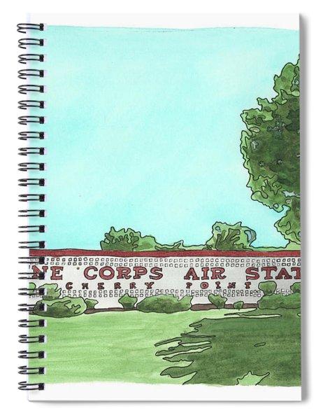 Mcas Cherry Point Welcome Spiral Notebook