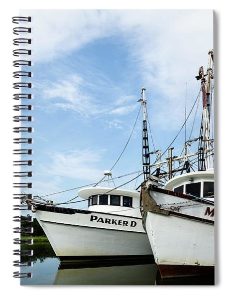 Mc Clellanville Shrimpers Spiral Notebook