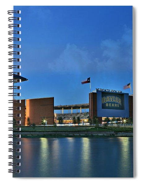 Mclane Stadium -- Baylor University Spiral Notebook