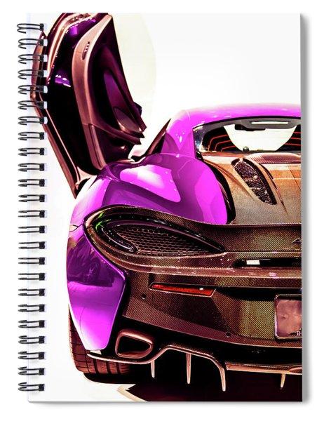 Mclaren Spiral Notebook