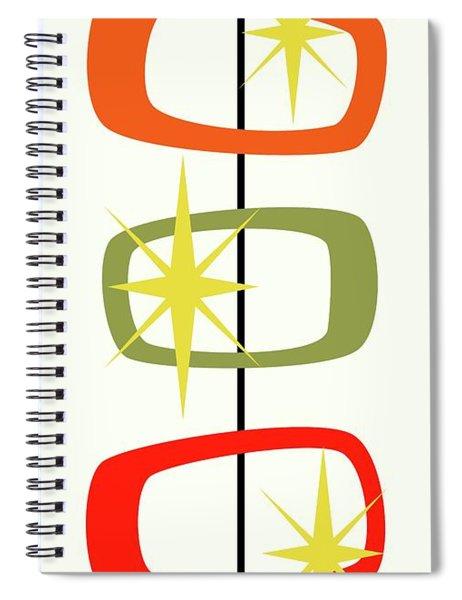 Mcm Shapes 1 Spiral Notebook