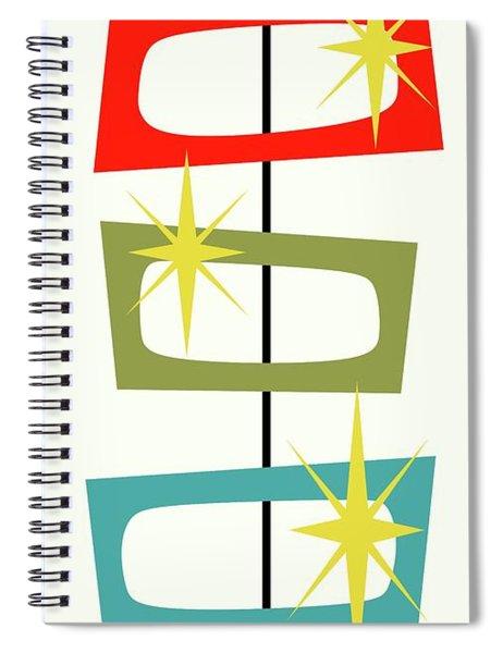 Mcm Shapes 3 Spiral Notebook