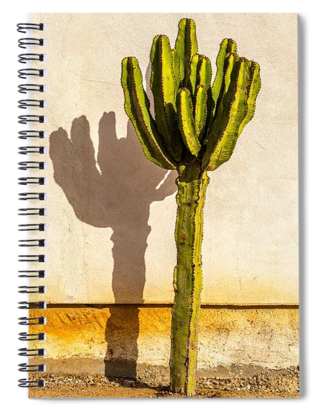 Me And My Shadow Spiral Notebook