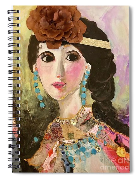 Sweet Charity  Spiral Notebook