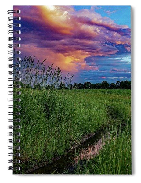 Meadow Lark Spiral Notebook