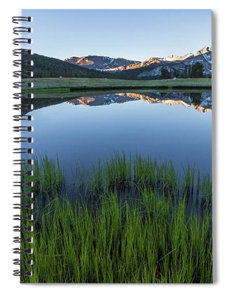 Meadow Reflections  Spiral Notebook