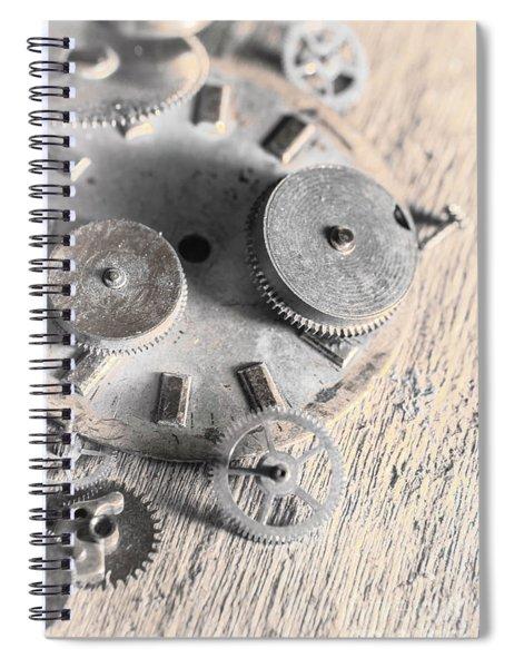 Mechanical Art Spiral Notebook