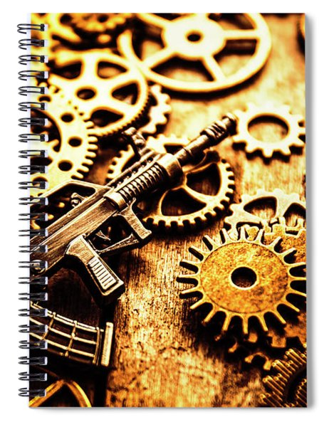 Mechanised Warfare Spiral Notebook