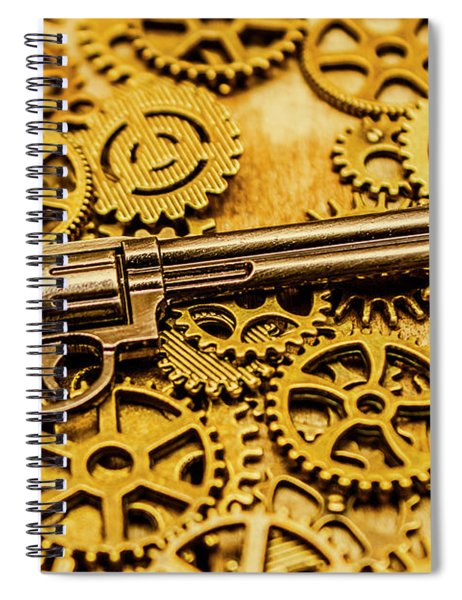 Mechanisms Of The Wild West  Spiral Notebook