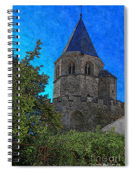 Medieval Bell Tower 1 Spiral Notebook