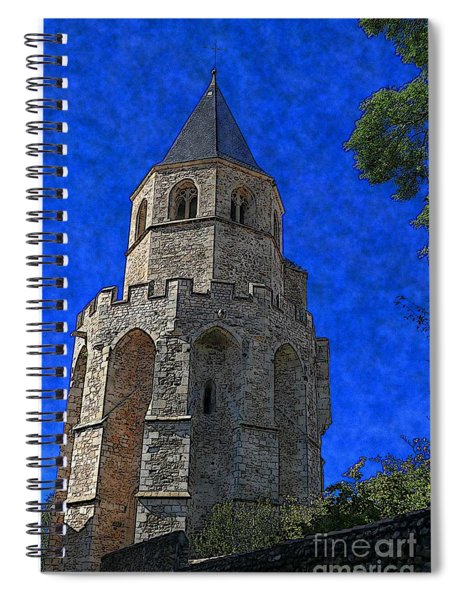 Medieval Bell Tower 2 Spiral Notebook