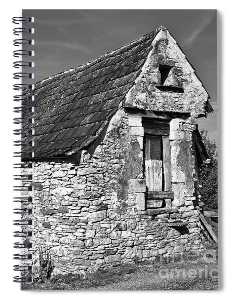 Medieval Country House Sound Spiral Notebook