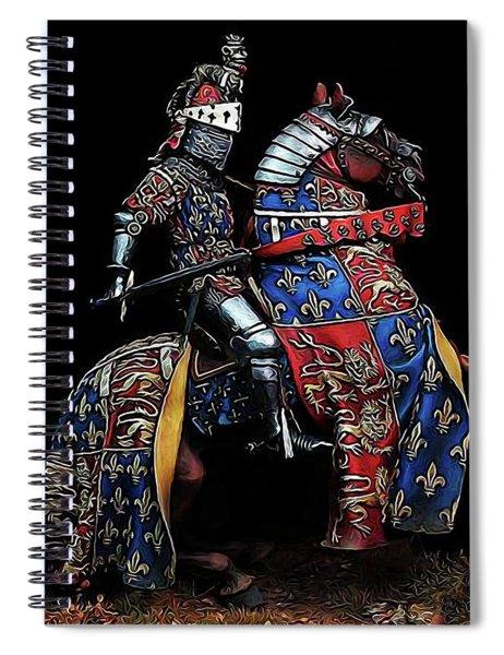 Medieval Knight - 02 Spiral Notebook