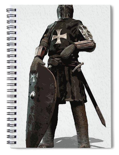 Medieval Warrior - 06 Spiral Notebook