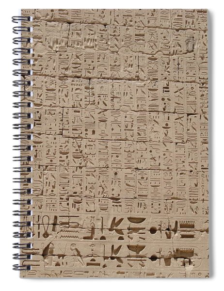 Medinet Habu Spiral Notebook