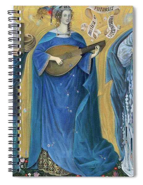 Meditations On The Holy Trinity  After The Music Of Olivier Messiaen, Spiral Notebook