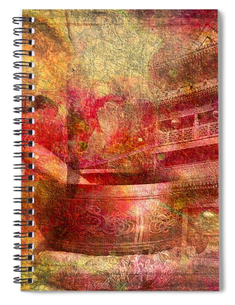 Meditative Montage 2015 Spiral Notebook