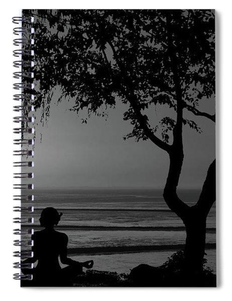 Meditative State Spiral Notebook