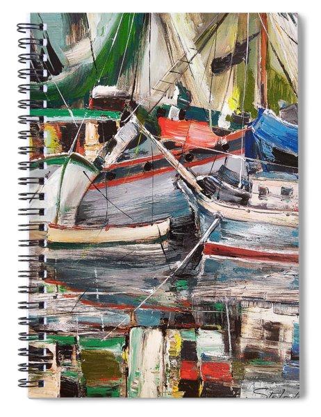 Mediterranean Impression Spiral Notebook
