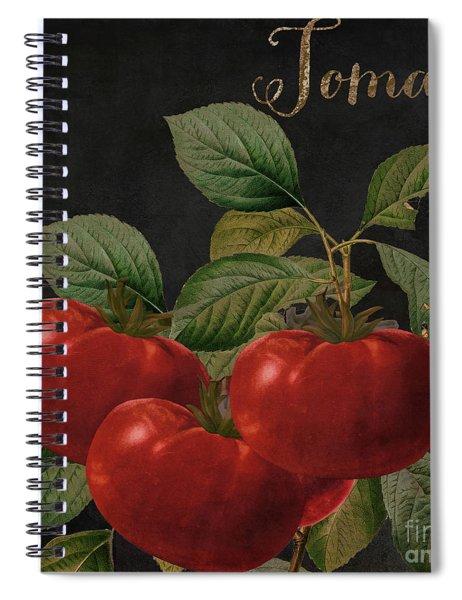 Medley Tomato Spiral Notebook
