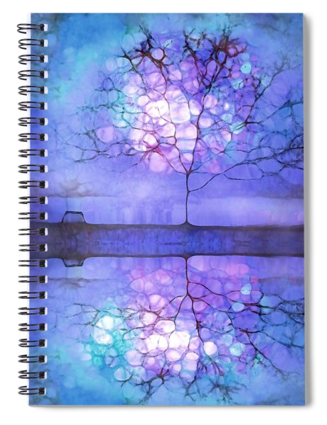 Meet Me At Twilight Spiral Notebook