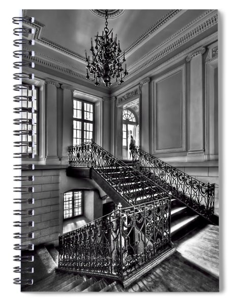 Meet Me Half Way Spiral Notebook