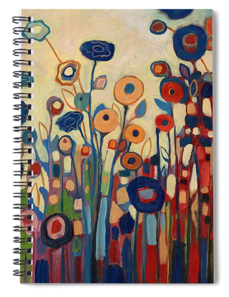 Meet Me In My Garden Dreams Spiral Notebook