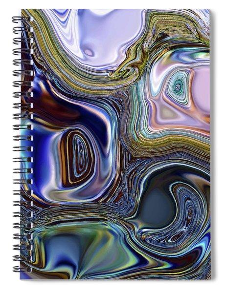 Meeting Twice Spiral Notebook by Menega Sabidussi