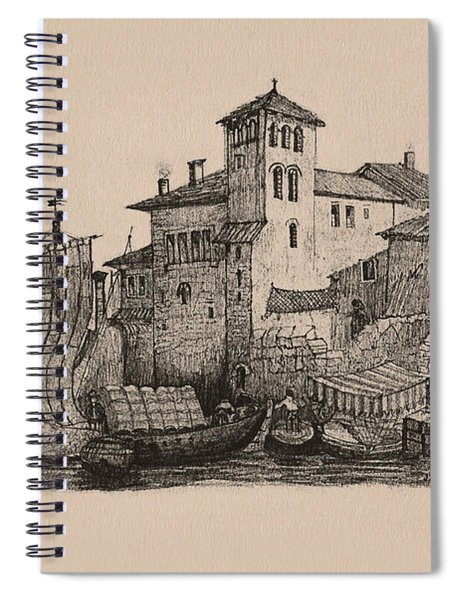 Meetings At The Dock Spiral Notebook