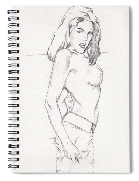 Megan - Sketch Spiral Notebook