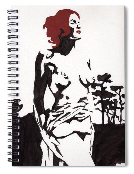 Megan - Sunlight Spiral Notebook