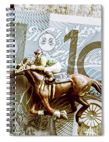Melbourne Cup Wager Spiral Notebook