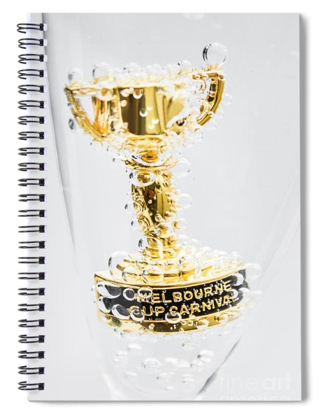 Melbourne Cup Winners Trophy Spiral Notebook